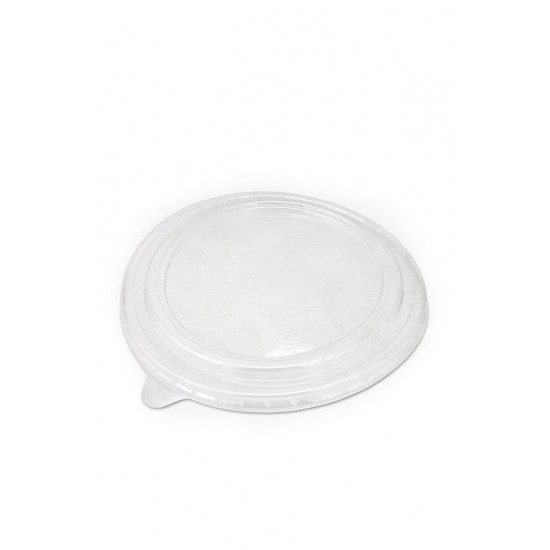 Крышка плоская РЕТ прозрачная Ø=184мм