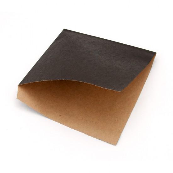 Уголок для бургера | Черный 160*170мм