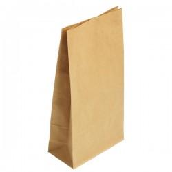 Крафт пакет прямоугольное дно без ручек 170*120*280мм