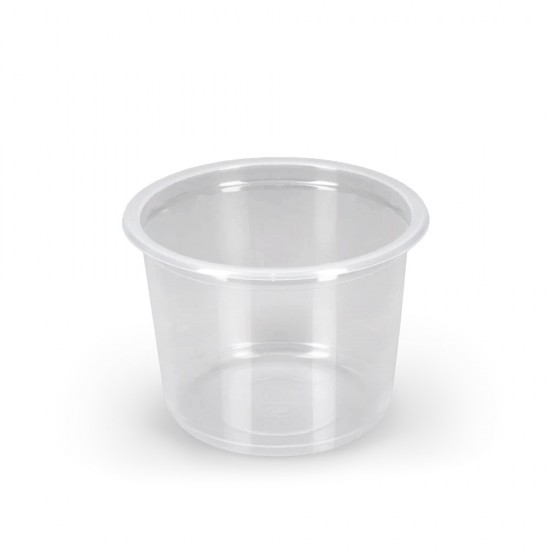 Контейнер круглый PP 500мл | Прозрачный Ø=115мм, h=82,6мм