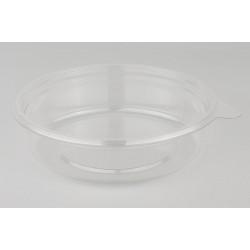 Контейнер круглый прозрачный РЕТ для салата 250мл Ǿ=131мм h=34мм