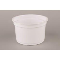 Универсальный контейнер круглый белый РР 250мл Ǿ=95мм, h=67мм