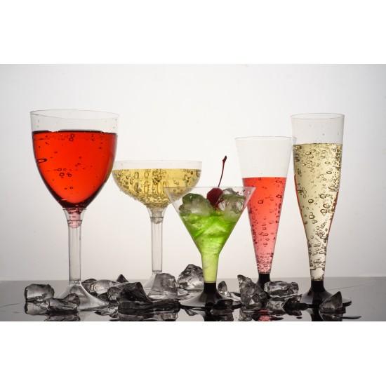 Фужер для вина большой (на высокой ножке) 250мл | Прозрачный Ø=80мм, h=180мм
