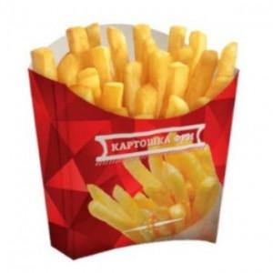 Брендирование - Коробки для картофеля-фри