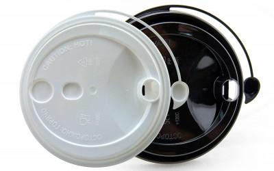 Новые Крышки с питейником - для одноразовых стаканов
