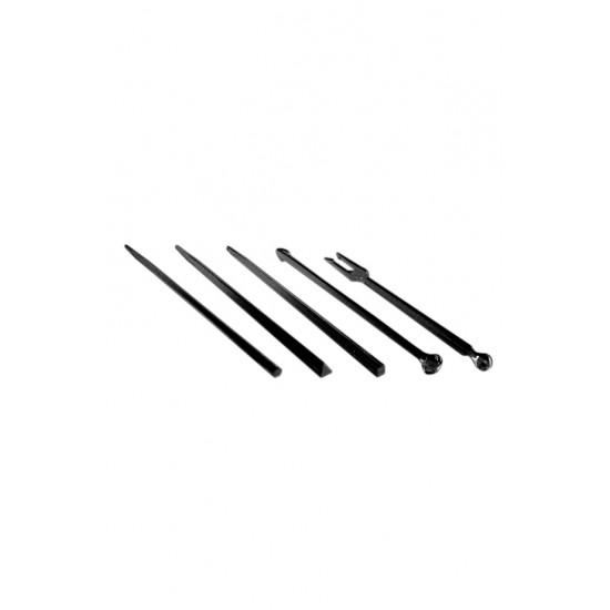 Палочки для снеков (в ассортименте) d=90мм черные