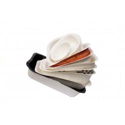 Контейнер (лоток) под запайку бумажный 1РЕ различные модификации