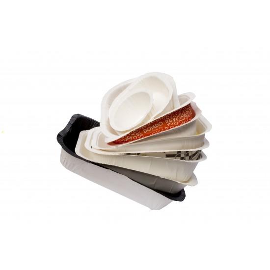 Контейнер бумажный (лоток) под запайку | 1PE различные модификации