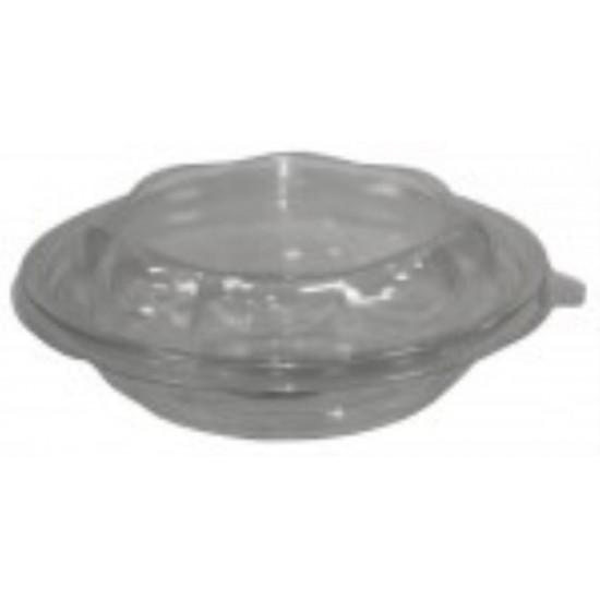 Крышка для контейнера для салата прозрачная круглая РЕТ Ǿ=180мм