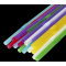 Трубочка (соломинка)  d=210мм разноцветная с коленом (1000шт/уп)