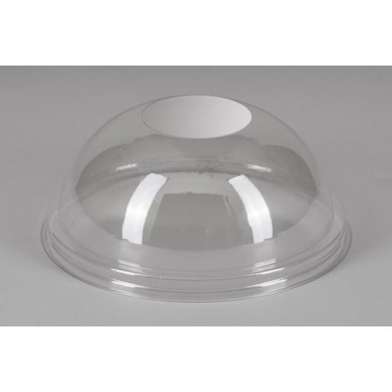 Крышка купол PET Ø=87мм | Прозрачная