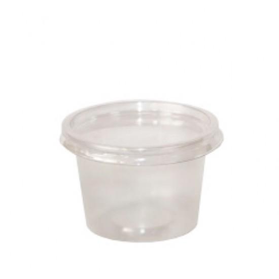 Крышка PET для соусников 011903 / 011904 | Прозрачная