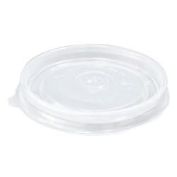 Крышка полипропиленовая полупрозрачная для супового контейнера Ǿ=90мм