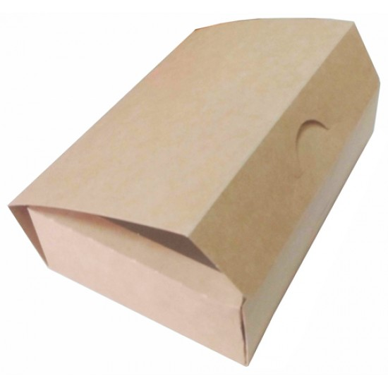 Коробка бумажная 700мл | Крафт/Белая 1PE 165*115*45мм