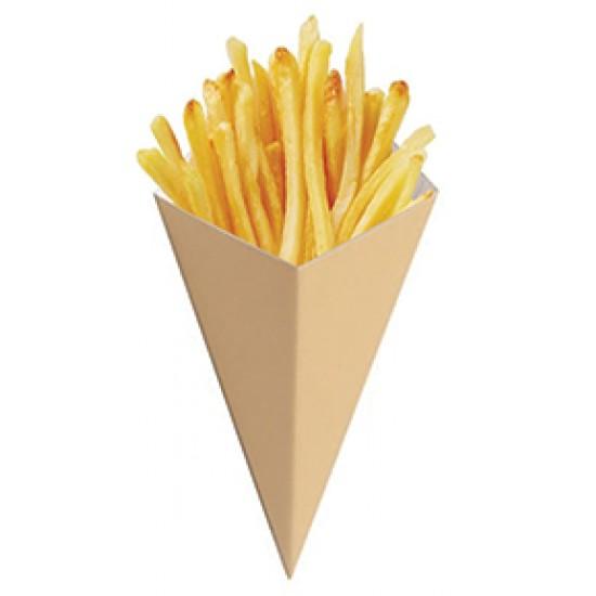 Упаковка бумажная под чурос, картошку фри | Крафт 80*200мм