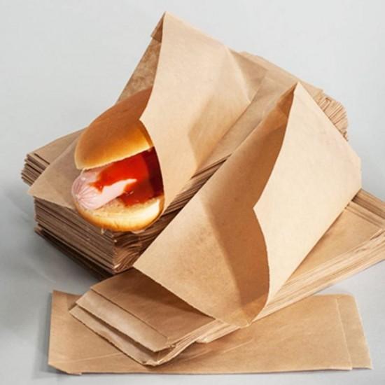 Уголок для классического хот-дога | Крафт 200*85мм