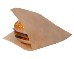 Уголок для гамбургера 160*170мм крафт