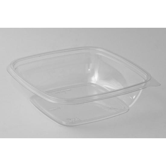 Контейнер квадратный прозрачный РЕТ для салата 190*190*41,5мм, 750мл