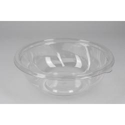Контейнер круглый РЕТ прозрачный для салата 1000мл Ǿ=190мм, h=64,5мм