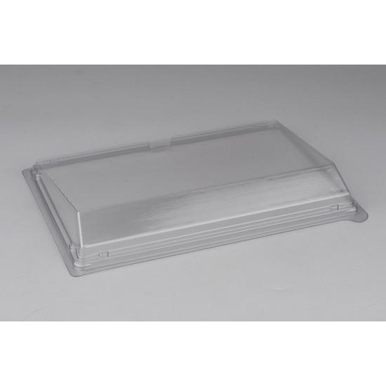 Крышка прозрачная для большого контейнера-витрины РЕТ 235*162*32мм