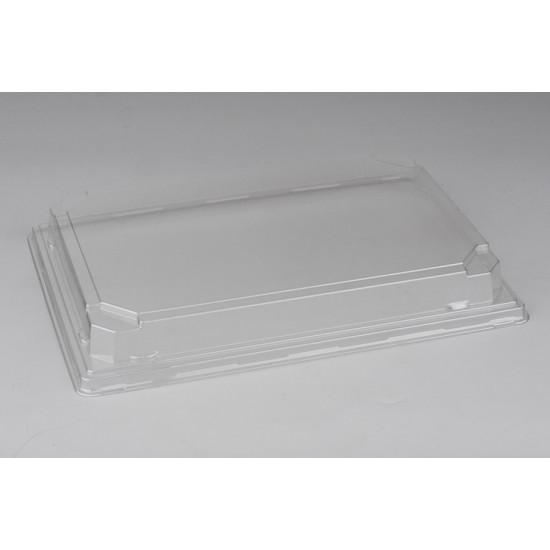 Крышка PET   Прозрачная для большого контейнера 242*168*30мм