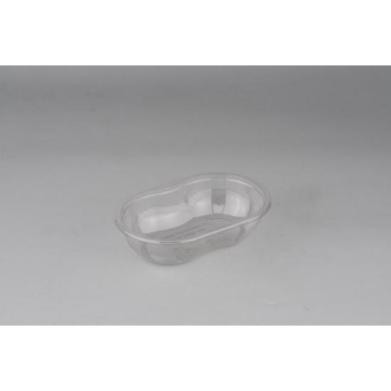"""Контейнер РЕТ """"ванночка"""" для салата, десерта прозрачный, 250мл, 141*92*35,5мм"""
