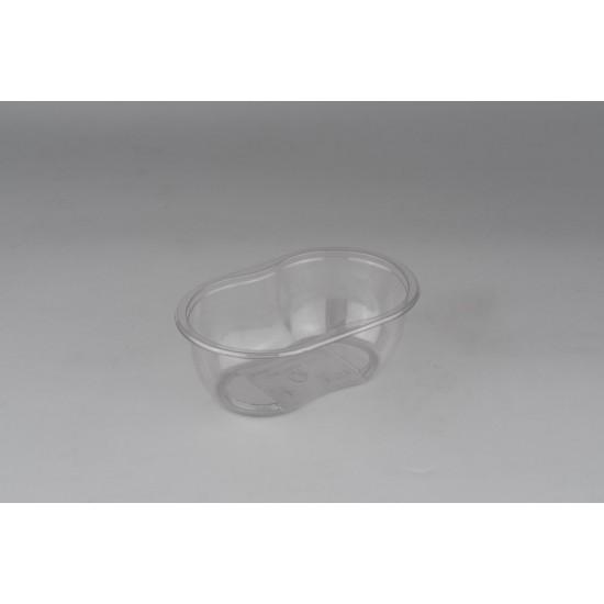 Контейнер (Ванночка) PET 375мл | Прозрачный 141*92*50,5мм