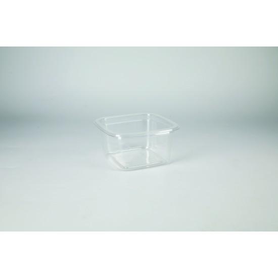 """Контейнер для салата, десертов """"Кубик Лондон"""" прозрачный РЕТ, 93*93*48мм, 200мл"""