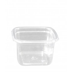 """Контейнер для салата, десертов """"Кубик Лондон"""" прозрачный РЕТ, 93*93*69мм, 300мл"""