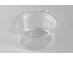 Соусник с неразъемной крышкой круглый Ǿ=64мм прозрачный РЕТ 50мл