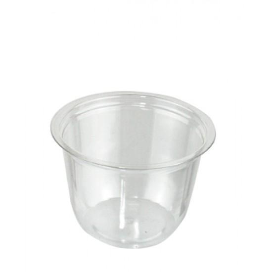 Контейнер PET для десертов, соус 150мл | Прозрачный Ø=76мм