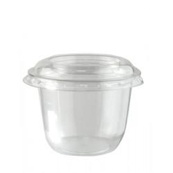 Крышка для контейнера Ø76мм, PET , плоская