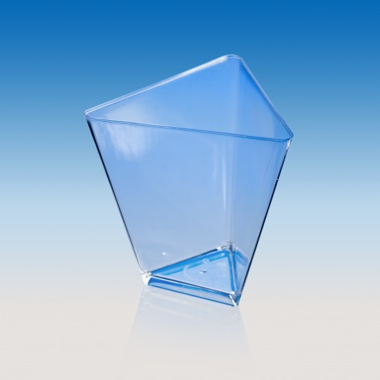"Форма ""Треугольник"" 70мл | Прозрачная 67*67*65мм"