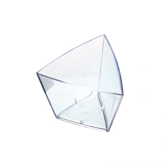 """Форма """"малый треугольник"""" 55*55*45мм 45мл прозрачная"""