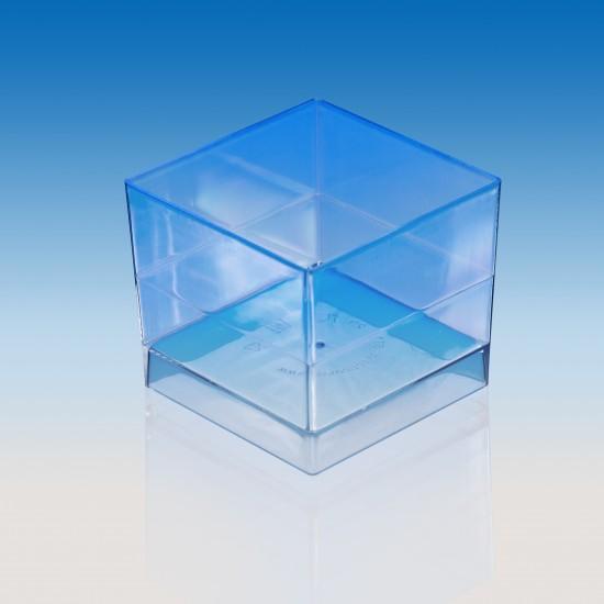 """Форма """"куб"""" 47*47*41мм 60мл прозрачная"""