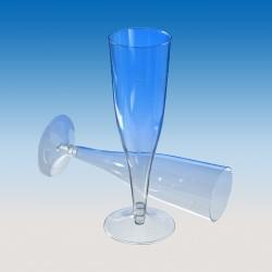 "Бокал для шампанского ""флюте"" (на низкой ножке) 100мл, Ǿ=50мм, h=177мм."