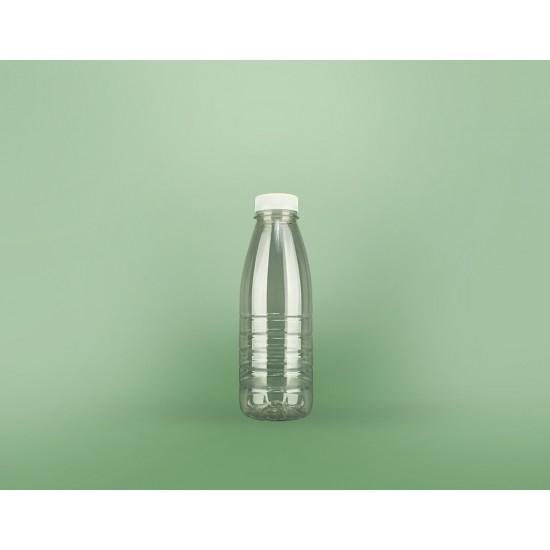 Бутылка PET с широким горлом 1000мл | Прозрачный Ø38мм