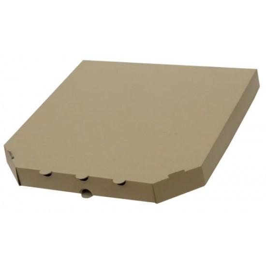 Коробка для пиццы из гофрокартона бурая 350*350*40мм