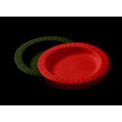 Тарелка из кукурузного крахмала черная  Ǿ=180мм